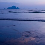 View from Aonang Beach - Krabi