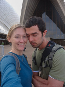 Having fun (and getting some sleep) at the Sydney Opera House