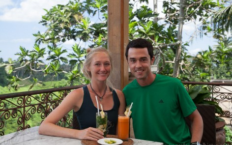 Our sixth anniversary brunch celebration at Indus Restaurant - Ubud, Bali