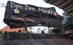 Den Den Mushi Homestay sign